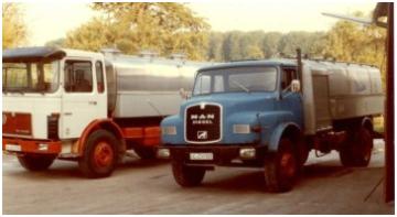 Erster vollautomatische Milchsammelwagen