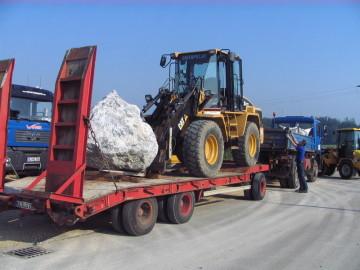 Werner Transporte Natursteintransporte